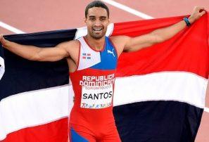 Luguelín Santos tumba legendario récord 400 metros en España