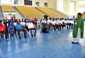 Federación de balonmano celebra eucaristía de acción de gracias