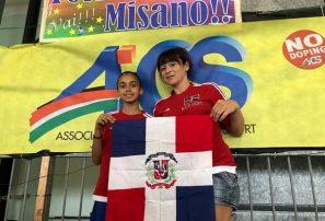 Patinadora RD de 13 años logra plata en evento en Italia
