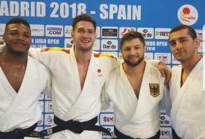 Florentino gana plata y Del Orbe bronce en Open Judo