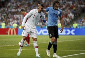 Uruguay a cuartos de final tras eliminar a Portugal y Ronaldo