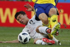 Con penal marcado por el VAR, Suecia derrota a Corea del Sur