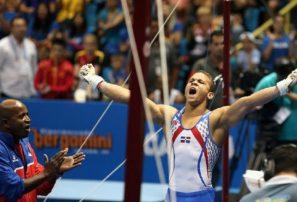 Audrys Nin Reyes obtiene plata en barra fija en mundial gimnasia