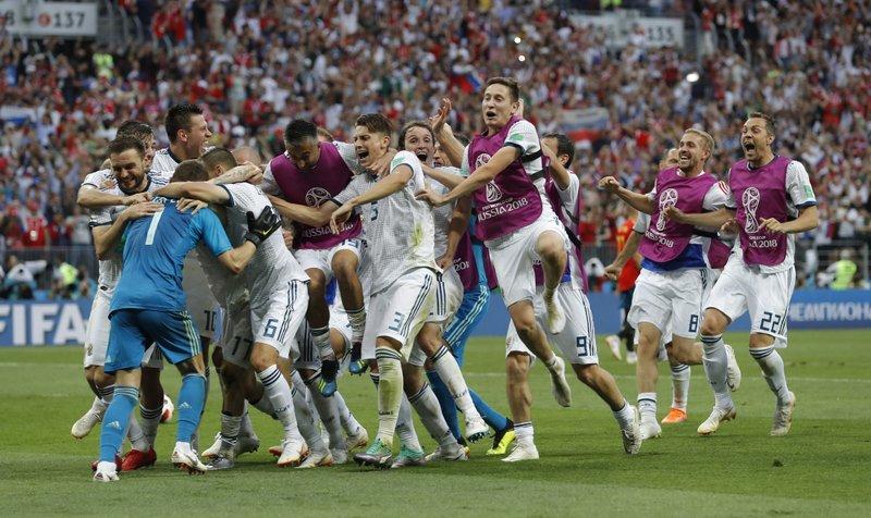Rusia hunde a España en penales y se mete en cuartos de final