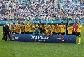 Bélgica derrotó a Inglaterra y se quedó con el tercer lugar