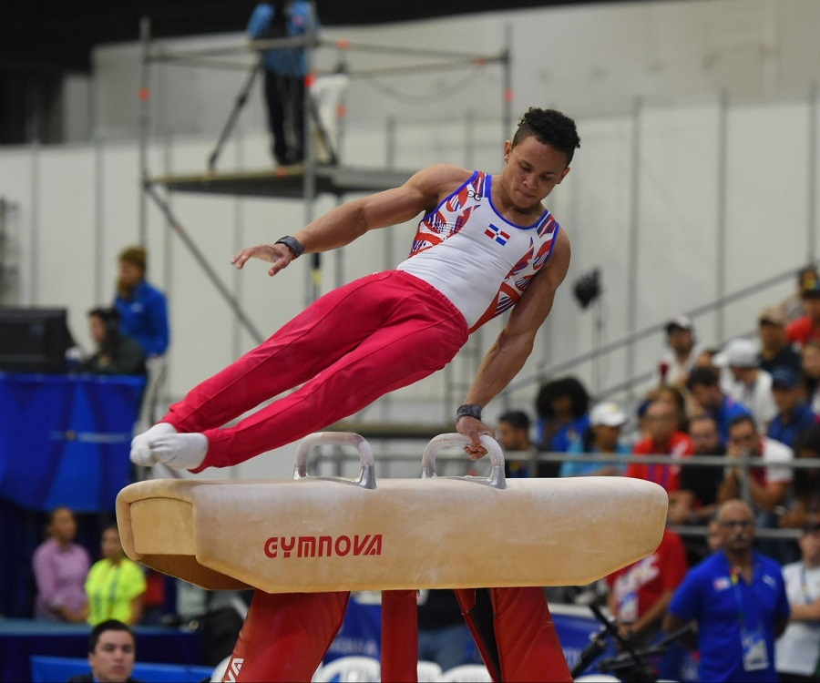 Gimnasta Audrys Nin Reyes, presea de bronce en all around