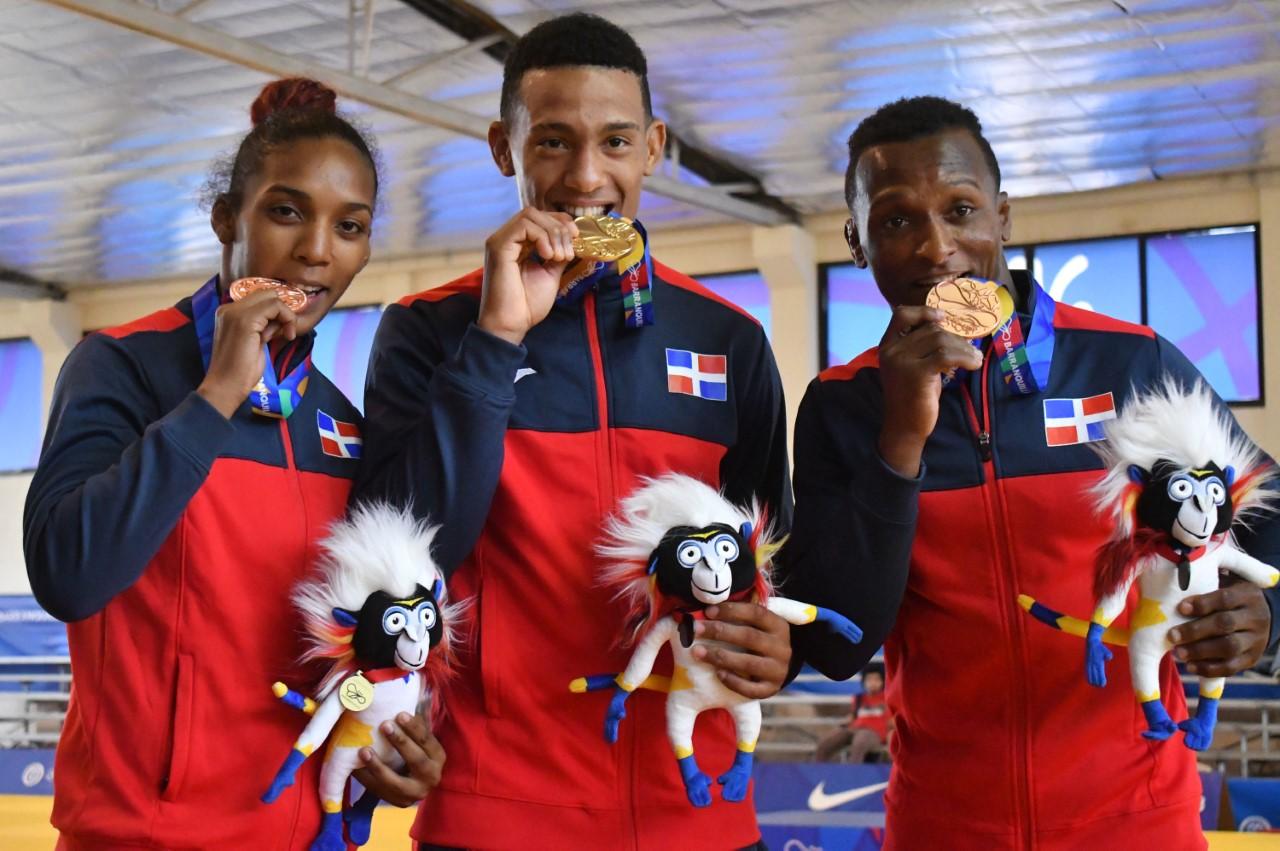 Medickson gana oro; Mateo y Otaño medallas bronce en judo