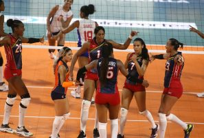 Sexteto RD se impone ante Cuba en voleibol femenino Barranquilla