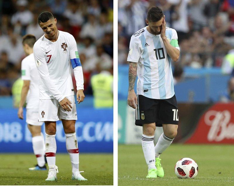 Messi y Cristiano, en lista de astros sin ganar Mundial