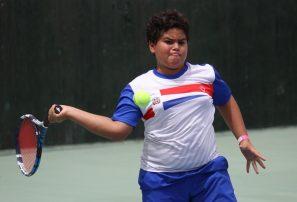 Dominicana gana en inicio de Campeonato de tenis sub-12