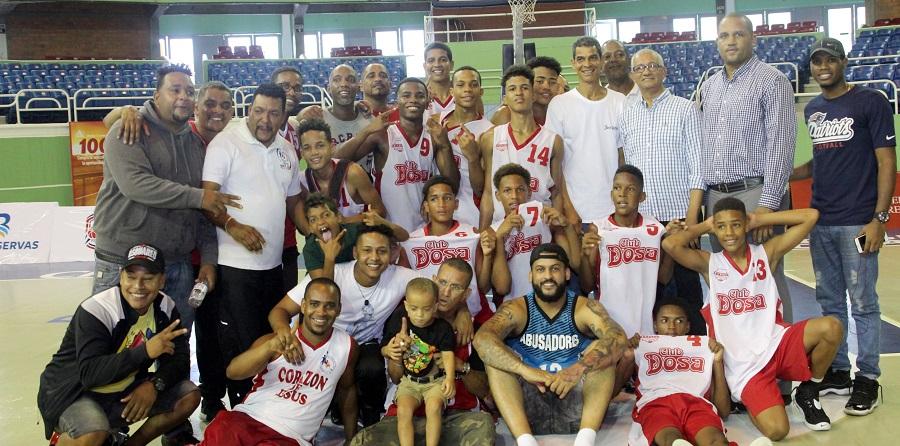Club Dosa se proclama campeón del torneo de basket sub-16 del DN