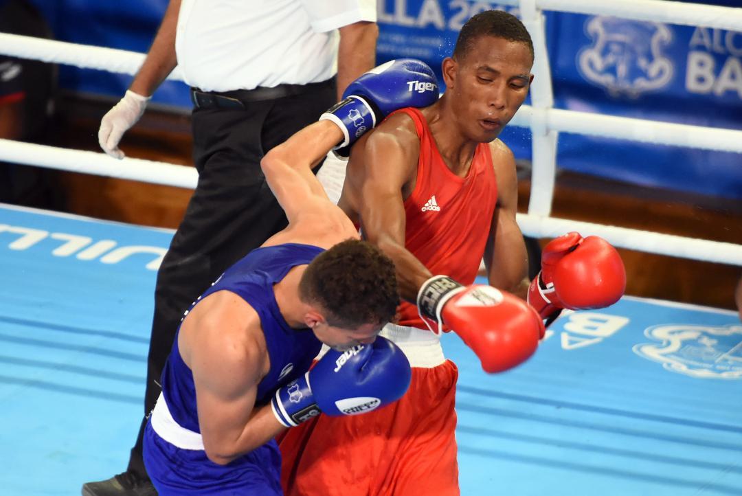 Cedeño, De la Cruz y Rodríguez aseguran bronce en el boxeo