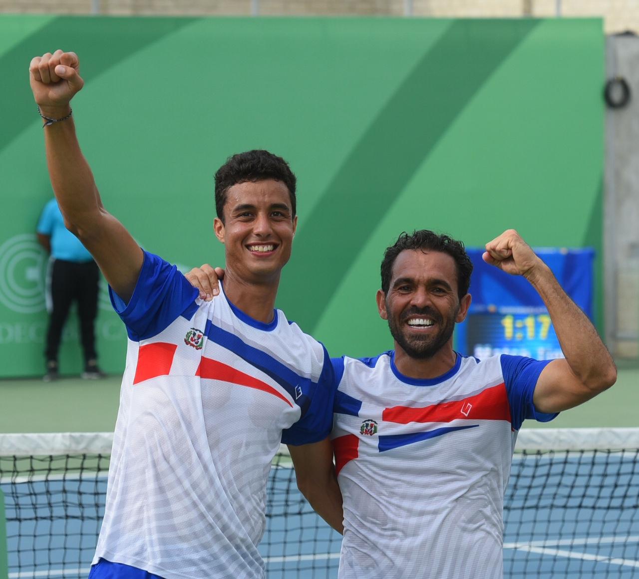 Víctor Estrella y Roberto Cid, campeones de dobles masculinos