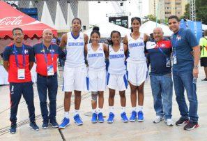 Equipo basket femenino 3×3 gana bronce en Barranquilla