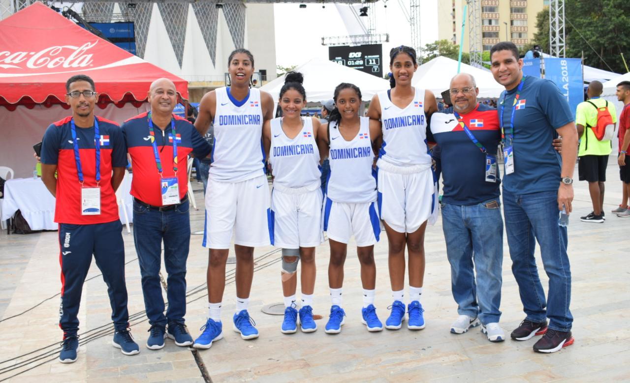 Equipo basket femenino 3x3 gana bronce en Barranquilla