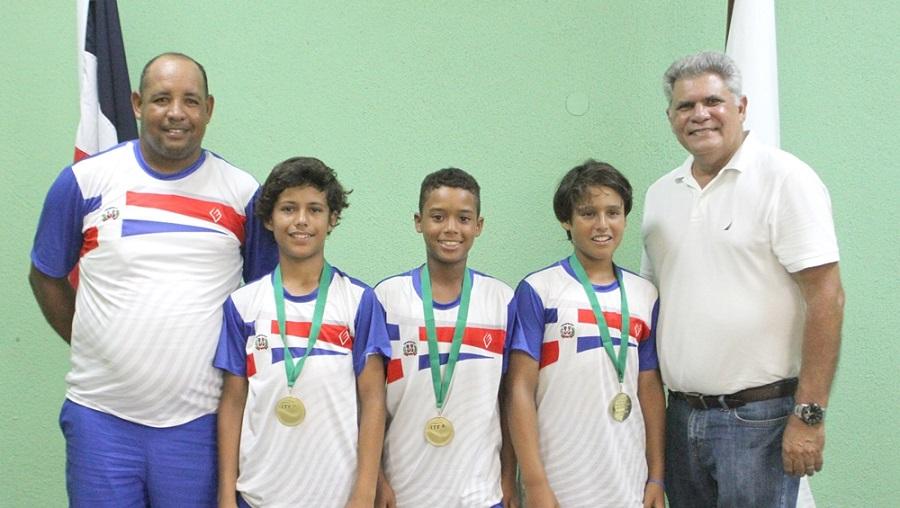 Equipo masculino sub-12 clasifica a final de Confederación de Tenis Centroamérica y el Caribe