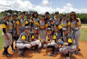 Bravas, Fieras, Nenas y Arroceras clasifican a semifinales en béisbol femenino