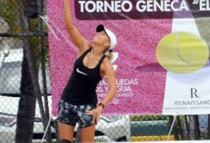 Claudine y Portes disputarán final femenina Geneca de Tennis