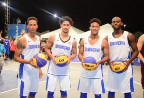 Equipo masculino baloncesto 3×3 logra medalla de plata