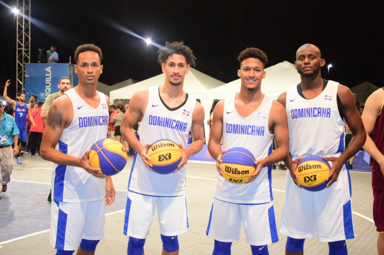 Equipo masculino baloncesto 3x3 logra medalla de plata