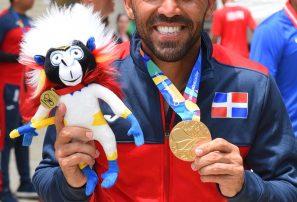 Víctor Estrella gana tercer oro seguido en Centroamericanos