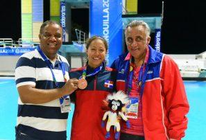 Krystal Lara Garzón, bronce en 100 metros dorso en Barranquilla
