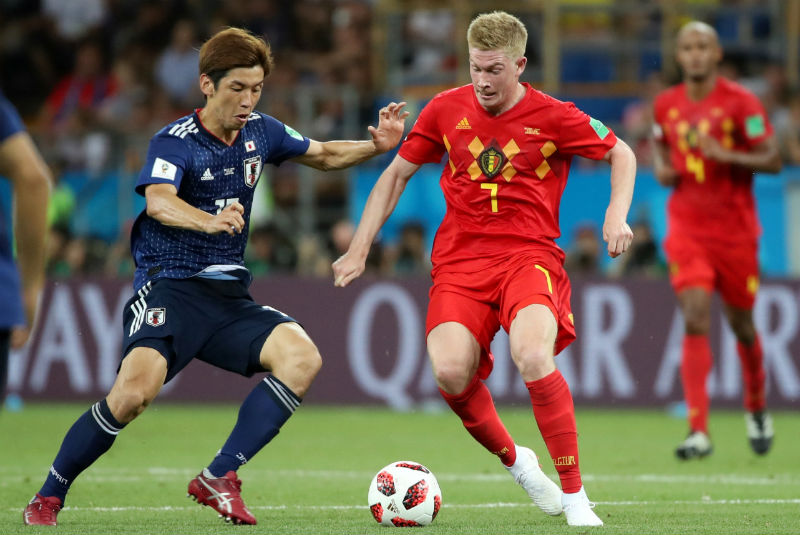 Bélgica protagoniza épica remontada y avanza a cuartos de final
