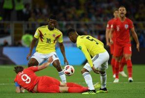 Inglaterra derrota a Colombia en los penales; jugará con Suecia