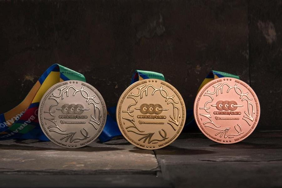 3.220 medallas se entregarán en los Juegos Centroamericanos
