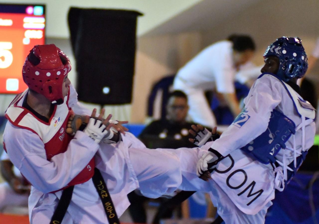 Bernardo Pie conquista oro y Edward Espinosa plata en taekwondo