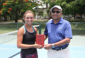 Marte finalista en Copa Merengue U14; Chiatti, campeona de dobles
