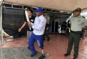 El fuego de Barranquilla 2018 superó la lluvia sanandresana