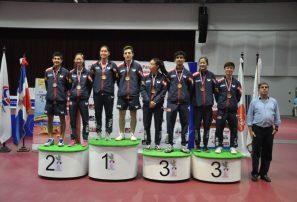 Estados Unidos, campeón absoluto Panamericano Juvenil Tenis Mesa