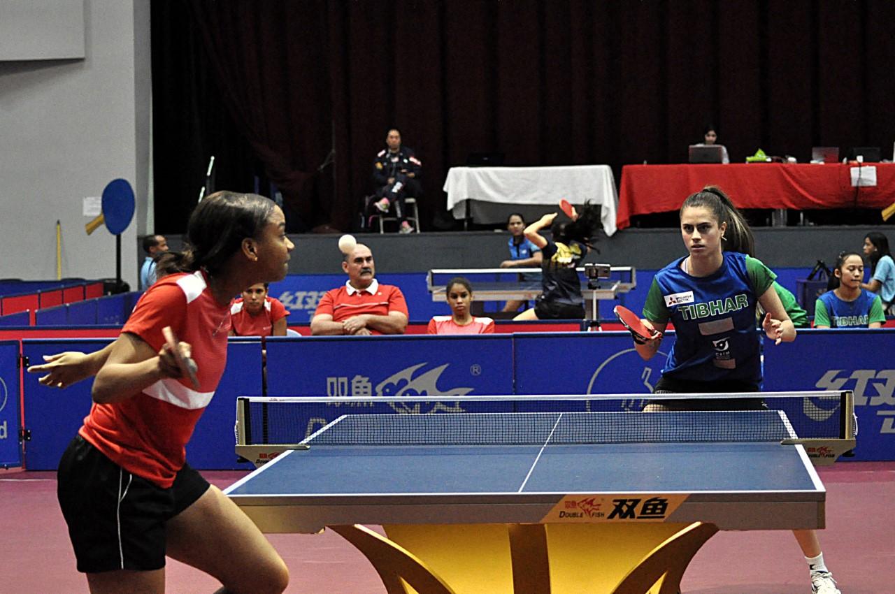 Selección femenina discutirá el bronce en Panam Tenis de Mesa