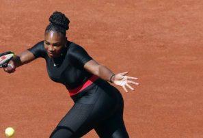 Abierto de Francia prohíbe traje negro ajustado de Serena Williams