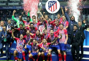 Atlético de Madrid se corona campeón de la Supercopa de Europa