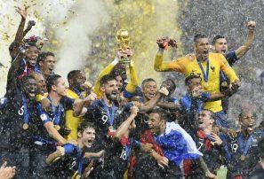 Campeón mundial Francia encabeza la clasificación de la FIFA