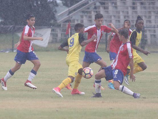 Onceno de Santa Lucia, campeón de la Serie masculina de fútbol U 14