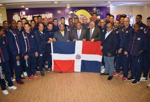 Despiden Voleibol Varones que irán a Copa Panam y al Campeonato Mundial