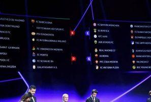 Se realizó el sorteo de grupos de la Champions League