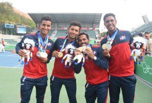 Selección masculina de tenis logra el oro Copa de Naciones
