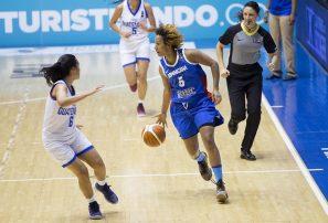 Selección femenina RD debuta con victoria ante Guatemala en Centrobasquet