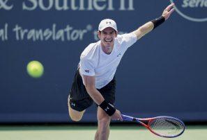 Murray cae en primera ronda en Cincinnati; Serena avanza