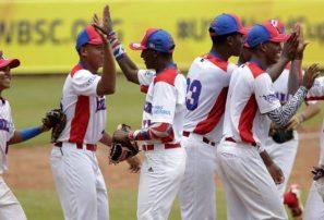 Novena RD vence a Taiwán en el Mundial sub-15 de béisbol