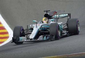 Lewis Hamilton se hace con la 'pole' del Gran Premio de Bélgica