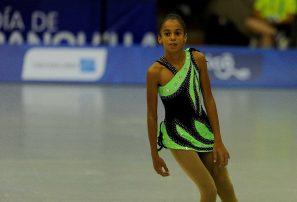 Micaela Marcelloni se luce con bronce en patinaje artìstico