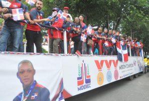 Medallistas celebraron con júbilo sus logros en Centroamericanos y del Caribe