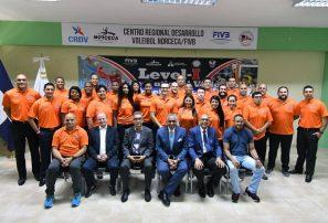 Inician Curso Internacional Entrenadores Voleibol Nivel 1
