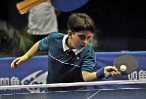 Infantiles acaparan cuatro oros en dobles tenis de mesa del Caribe