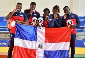Judo hace historia, se hace de otras cinco medallas en Centroamericanos
